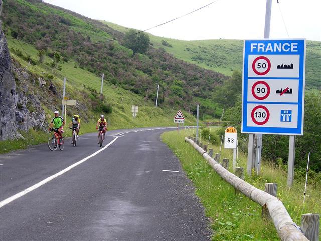 Frontera con Francia