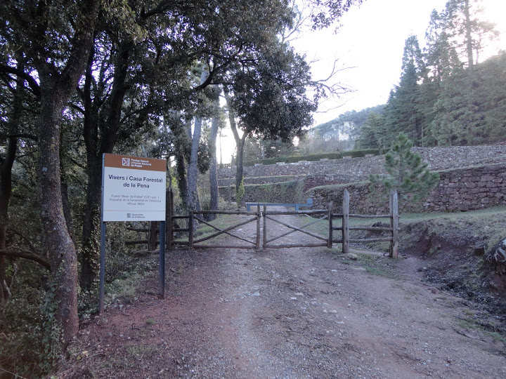 Casa forestal La Pena