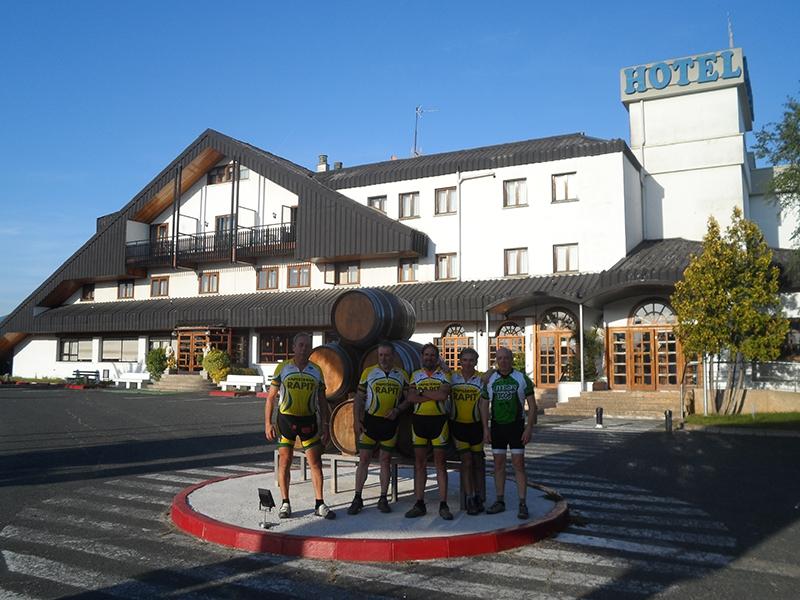 Hotel Ciudad de Haro.