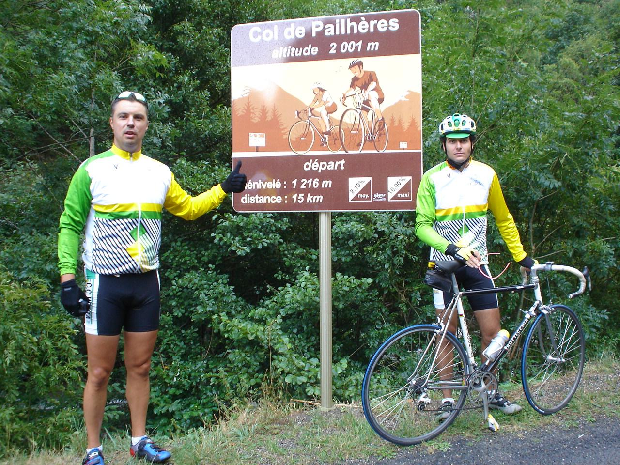 Col de Pailhères 2005