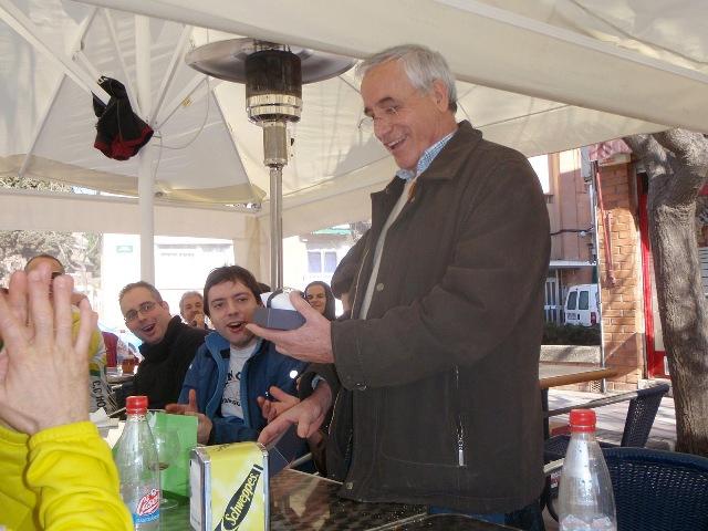 Homenaje Antonio Roldán