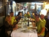 cena en Olot