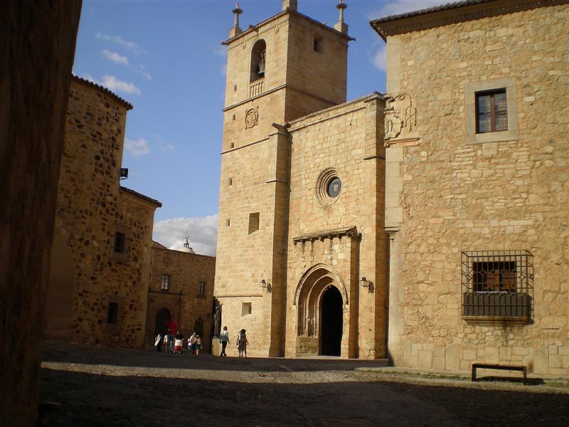 Cáceres iglesia de Sta.Maria