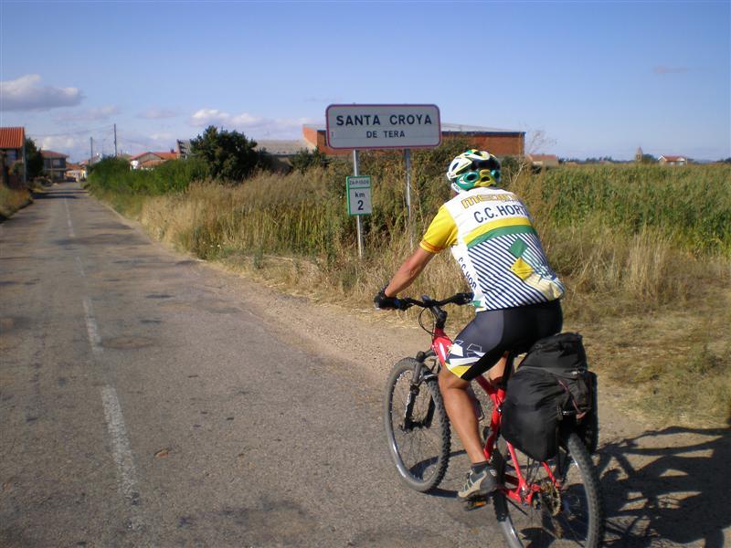 Entrada a Santa Croya