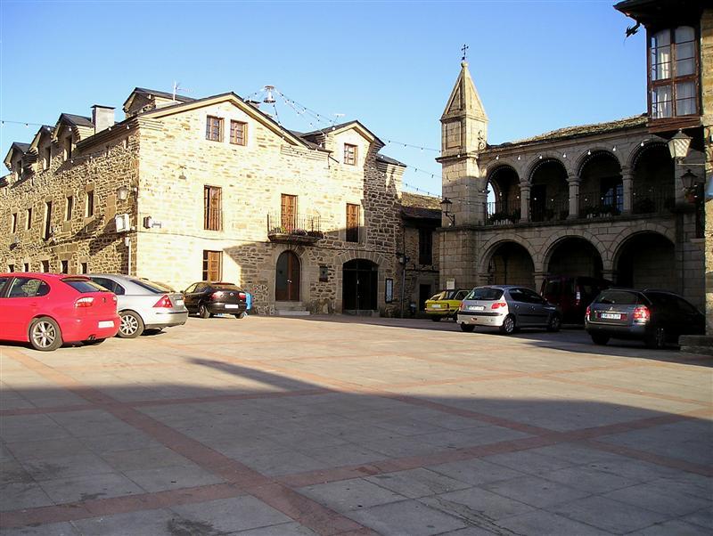 Puebla de Sanabria plza.Mayor