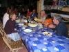 Cena en el Albergue